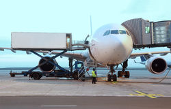αερολιμένας επιβατηγών &alph Στοκ Εικόνες