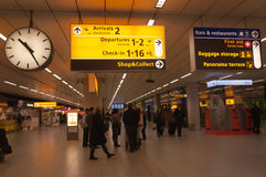 αερολιμένας Κάτω Χώρες Schiphol Στοκ Εικόνες