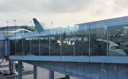 αερολιμένας σύγχρονος Στοκ φωτογραφίες με δικαίωμα ελεύθερης χρήσης
