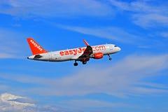 Αερολιμένας της Αλικάντε Easyjet Στοκ Εικόνα
