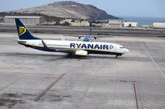 Αερολιμένας του Λας Πάλμας, Ισπανία Στοκ εικόνα με δικαίωμα ελεύθερης χρήσης