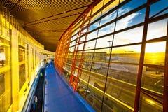 Αερολιμένας Beijin Στοκ εικόνες με δικαίωμα ελεύθερης χρήσης