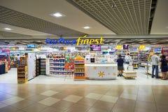 αερολιμένας Changi Σινγκαπού&r Στοκ Εικόνα