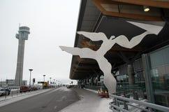 αερολιμένας Gardermoen Όσλο Στοκ Εικόνες