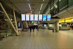 Αερολιμένας Schiphol του Άμστερνταμ Στοκ Εικόνες