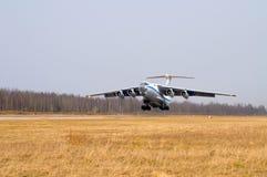 αεροπλάνο έναρξης Στοκ Εικόνα