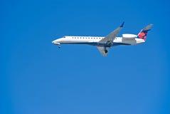 αεροπλάνο αεριωθούμενων αεροπλάνων Στοκ φωτογραφία με δικαίωμα ελεύθερης χρήσης