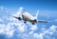 αεροπλάνο αεριωθούμεν&omeg Στοκ εικόνες με δικαίωμα ελεύθερης χρήσης