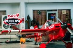 Αεροπλάνο αριθ. του Scott Holmess ` s 9 αεροσκάφη εκτός νόμου ` ` διαμορφώνουν Cassutt IIIM στη φυλή 1 Παγκόσμιο Κύπελλο Ταϊλάνδη Στοκ Εικόνα