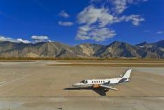 αεροπλάνο βουνών στοκ εικόνες