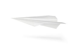 αεροπλάνο εγγράφου στοκ εικόνα με δικαίωμα ελεύθερης χρήσης