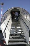 αεροπλάνο επιβατών τροφή&sigm Στοκ εικόνα με δικαίωμα ελεύθερης χρήσης