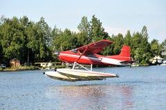 αεροπλάνο επιπλεόντων σ&ome Στοκ Εικόνες