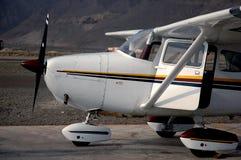 αεροπλάνο ιδιωτικό Στοκ Εικόνες