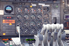 αεροπλάνο καμπινών Στοκ εικόνα με δικαίωμα ελεύθερης χρήσης