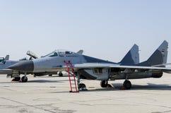 Αεροπλάνο μαχητών Στοκ εικόνα με δικαίωμα ελεύθερης χρήσης