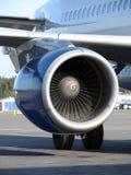 αεροπλάνο μηχανών Στοκ Εικόνα