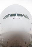 αεροπλάνο μύτης Στοκ εικόνες με δικαίωμα ελεύθερης χρήσης