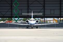 αεροπλάνο ναύλωσης Στοκ εικόνες με δικαίωμα ελεύθερης χρήσης