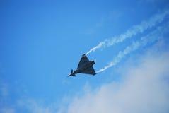 αεροπλάνο πολεμικό τζετ Στοκ Εικόνες