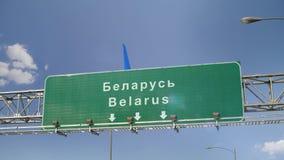 Αεροπλάνο που προσγειώνεται τη Λευκορωσία φιλμ μικρού μήκους
