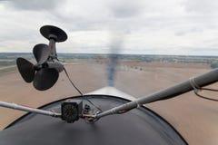 αεροπλάνο πτήσης μικρό Στοκ Εικόνες