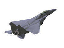 αεροπλάνο στρατιωτικό Απεικόνιση αποθεμάτων