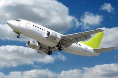 αεροπλάνο σύννεφων Στοκ εικόνα με δικαίωμα ελεύθερης χρήσης