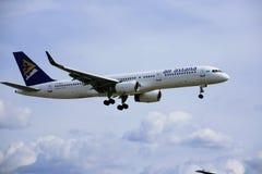 Αεροπλάνο του astana αέρα στοκ εικόνα με δικαίωμα ελεύθερης χρήσης
