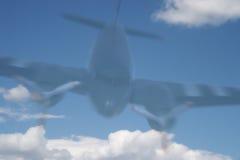 αεροπλάνο φαντασμάτων Στοκ Φωτογραφία