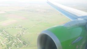 Αεροπλάνο απόθεμα βίντεο