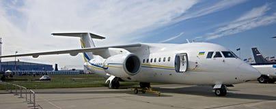 αεροπλάνο 158 antonov Στοκ εικόνες με δικαίωμα ελεύθερης χρήσης