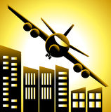 αεροπλάνο διανυσματική απεικόνιση