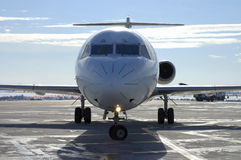 αεροπλάνο 8 αερολιμένων στοκ φωτογραφία με δικαίωμα ελεύθερης χρήσης