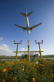 Αεροπλάνο airbus A330-200 Στοκ Εικόνες
