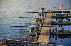 Αεροπλάνο Aqua Στοκ Εικόνες