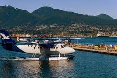 Αεροπλάνο Aqua Στοκ Φωτογραφία