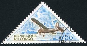 Αεροπλάνο Broussard στοκ εικόνα