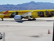 Αεροπλάνο panda Kung fu Στοκ φωτογραφία με δικαίωμα ελεύθερης χρήσης