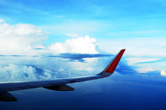 Αεροπορία και άποψη ουρανού Στοκ φωτογραφία με δικαίωμα ελεύθερης χρήσης