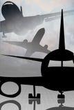 αεροπορικό ταξίδι απεικόνιση αποθεμάτων