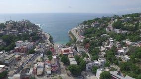 Αεροπορικό ταξίδι στην κατοικία και τουρισμός στο Los Cabos απόθεμα βίντεο