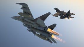 Αεροπλάνα μάχης ελεύθερη απεικόνιση δικαιώματος
