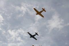Αεροπλάνα ναυτικού παραλιών της Φλώριδας Στοκ Εικόνες