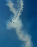 Αεροπλάνα στον ουρανό Στοκ Εικόνα