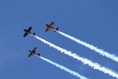 Αεροπλάνα στο σχηματισμό Στοκ Εικόνες