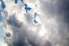 Αεροπλάνα στο airshow Στοκ εικόνες με δικαίωμα ελεύθερης χρήσης