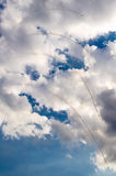 Αεροπλάνα στο airshow Στοκ Εικόνες