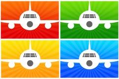 Αεροπλάνα ελεύθερη απεικόνιση δικαιώματος