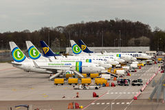 Αεροπλάνα Στοκ εικόνες με δικαίωμα ελεύθερης χρήσης